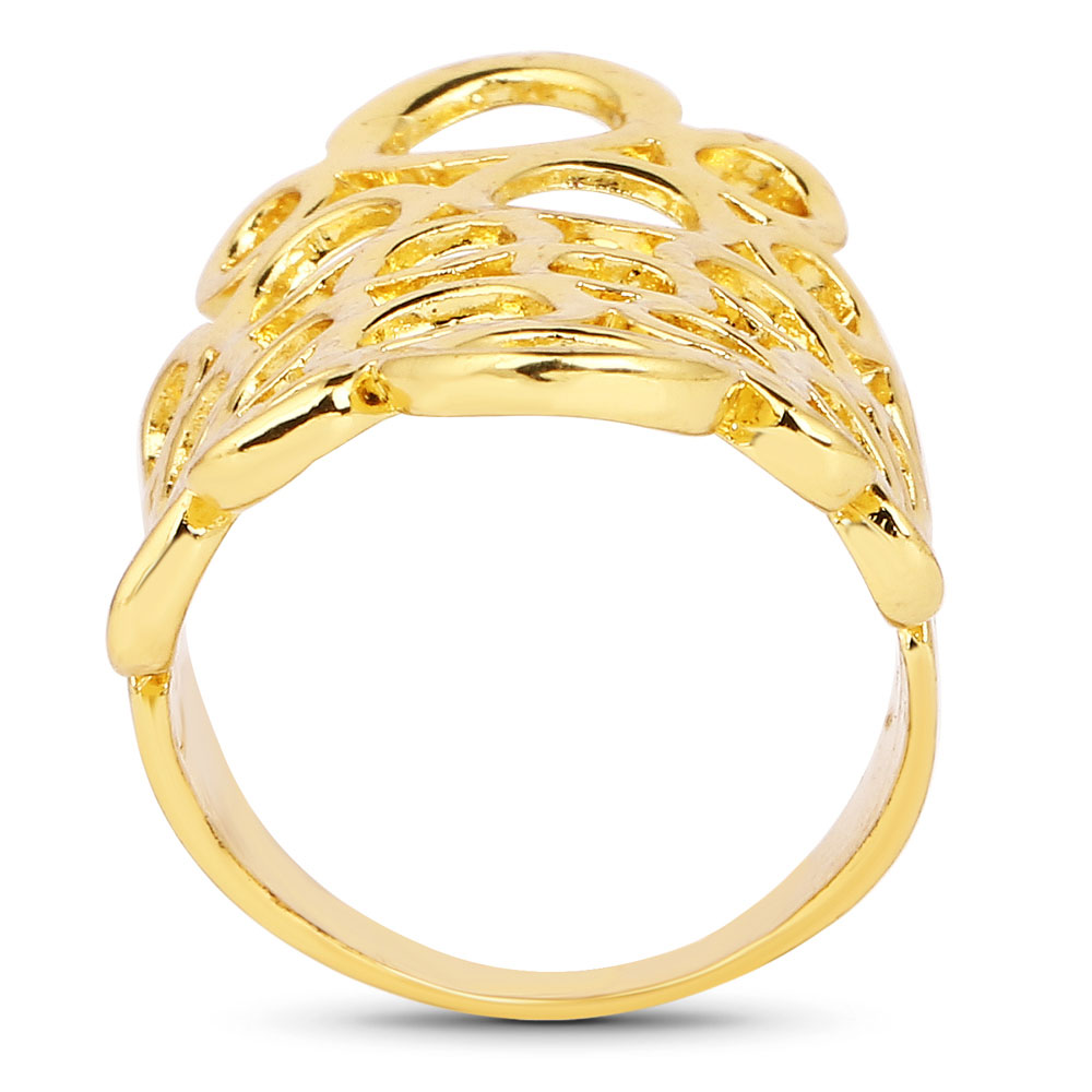 Gold Plated Fashion Statement Trendy Ring for women